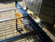 P型梁网格层板